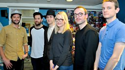 Image for With Maximo Park in session