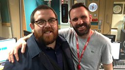 Image for Nick Frost joins Shaun in the studio