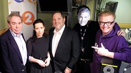 Image for George Clooney, Nerina Pallot, Andrew Lloyd Webber and Harvey Weinstein