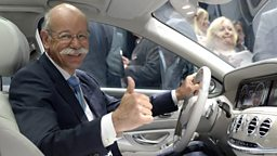 Image for Chairman Daimler AG and Head of Mercedes-Benz Cars - Dieter Zetsche