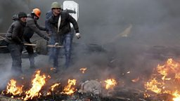 Image for Whose responsibility is it to stop the Ukraine violence?