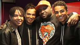 Image for Ace sits in for Adele with 3T in the studio