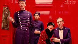 Image for The Grand Budapest Hotel, Marie Darrieussecq; Alan Ayckbourn