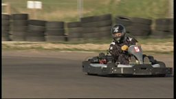 Joe Crowley goes Karting at Lydd