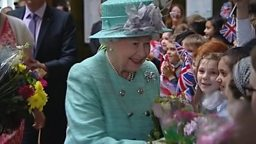 Queen visits the East Midlands