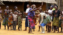 Photo: Tribal Dancing
