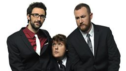 Photo: Mark Watson, Tim Key and Alex Horne