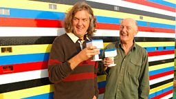 Photo: James May and Oz Clarke