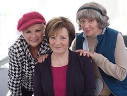 Delia Smith and Julie Walters