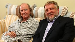 Photo: Sir John Tavener and Simon Russell Beale
