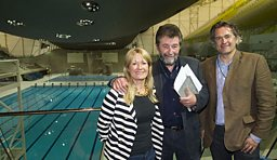 GQT's team in the Aquatic Centre