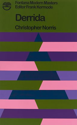 Derrida by Christopher Norris (Variation 3) 