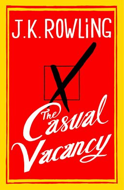 'The Casual Vacancy' is J.K. Rowling's first novel for adults