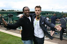 Reginald D Hunter with Richard Bacon