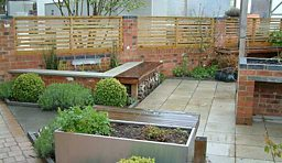 The Hearts & Minds Garden at Thrive headquarters, Reading
