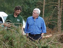 JOHN CRAVEN VISITS 'HARDY COUNTRY'
