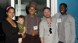 Huey Met Carolina Chocolate Drops to find out all about the string band from North Carolina.
