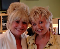 Miss Barbara Windsor joins us!