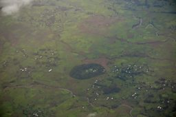 Aerial view of Dedresena Church Forest, Bahar Dar, Ethiopia