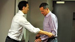 Brendan Cole and Nick Nairn