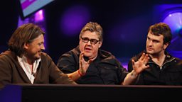 Photo: Richard Herring, Phill Jupitus and John McClure
