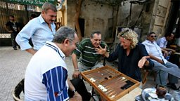 Photo: Backgammon game