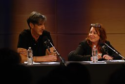 Andy Borowitz and Kathleen Madigan