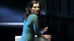 Photo: Kate Fleetwood as Lady Macbeth