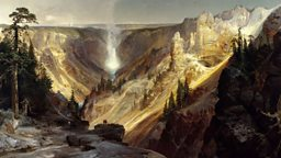 Yellowstone National Park in art