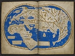 Photo: Henricus Martellus World Map