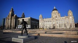 Torch Relay: Liverpool to Castletown
