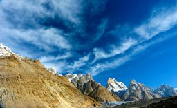 The stunning Karakoram mountain range