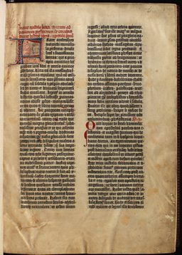 Gutenberg Bible - the copy on vellum