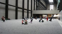 Sunflower Seeds cover the Turbine Hall