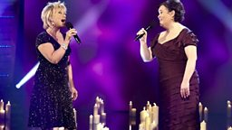 Elaine and Susan Boyle