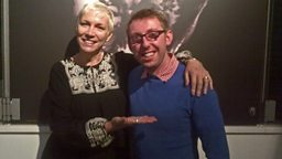 Annie Lennox and Thomas Magill talk about the exhibitionat The House of Annie Lennox