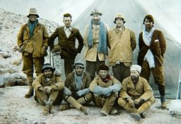 1924 Everest Expedition Team