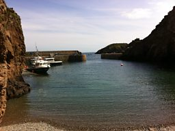 The harbour at Sark