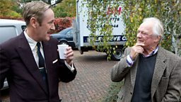Behind the scenes: Nicholas Lyndhurst & David Jason