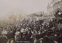 Fairground crowds