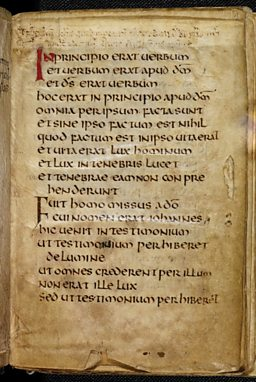 St Cuthbert Gospel