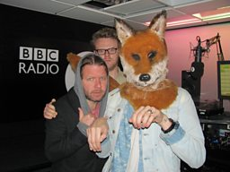 Niki & The Dove, Huw & a fox called Grimshaw