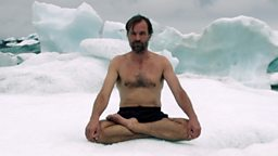 Wim Hof the Iceman