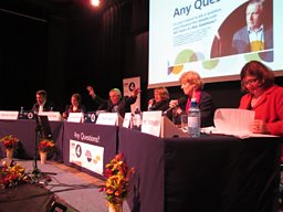 The Any Questions? Panel in Torquay
