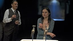 Photo: Paul Shelly as the Doctor and Kate Fleetwood as Lady Macbeth