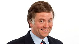 Photo: Jon Culshaw as Terry Wogan