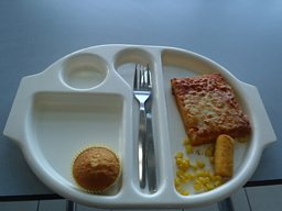 Martha Payne's school dinner
