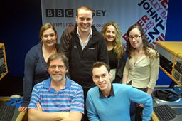 BBC RADIO JERSEY'S BREAKFAST TEAM