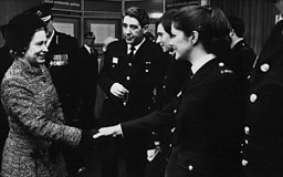 Meeting the Queen - Margaret Adams