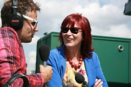 Richard Bacon and Janet Street-Porter